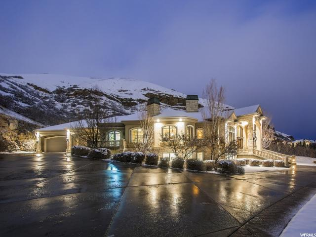JUST LISTED!  MAGNIFICENT GATED SALT LAKE ESTATE ON 3 1/2 PRIVATE ACRES!