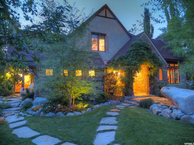 JUST LISTED! FOR SALE – STUNNING ENGLISH CREEK SIDE MANOR WITH VIEWS IN SANDY, UT