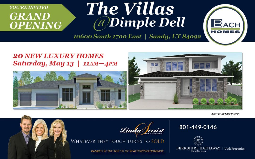 GRAND OPENING- VILLA'S @ DIMPLE DELL! SATURDAY, MAY 13, 2017  11-4 PM