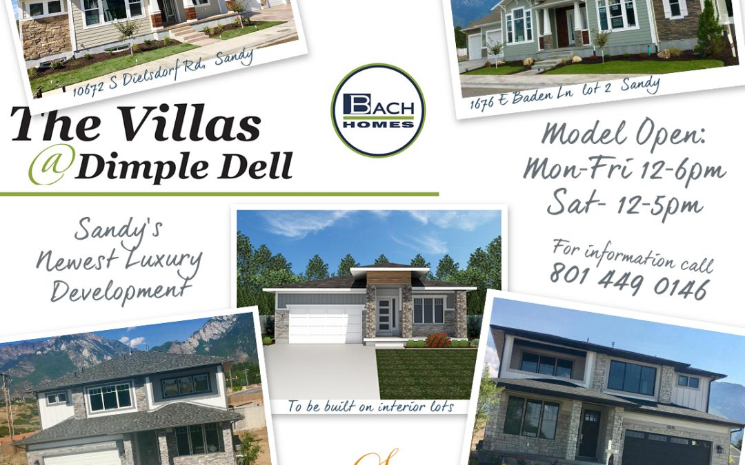 Sandy Utah's Newest Luxury Home Development