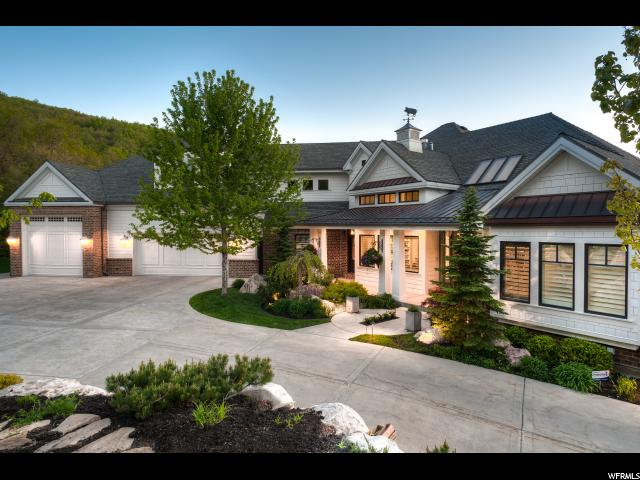 JUST LISTED!  MAJESTIC MAPLE HILLS ESTATE IN BOUNTIFUL, UT