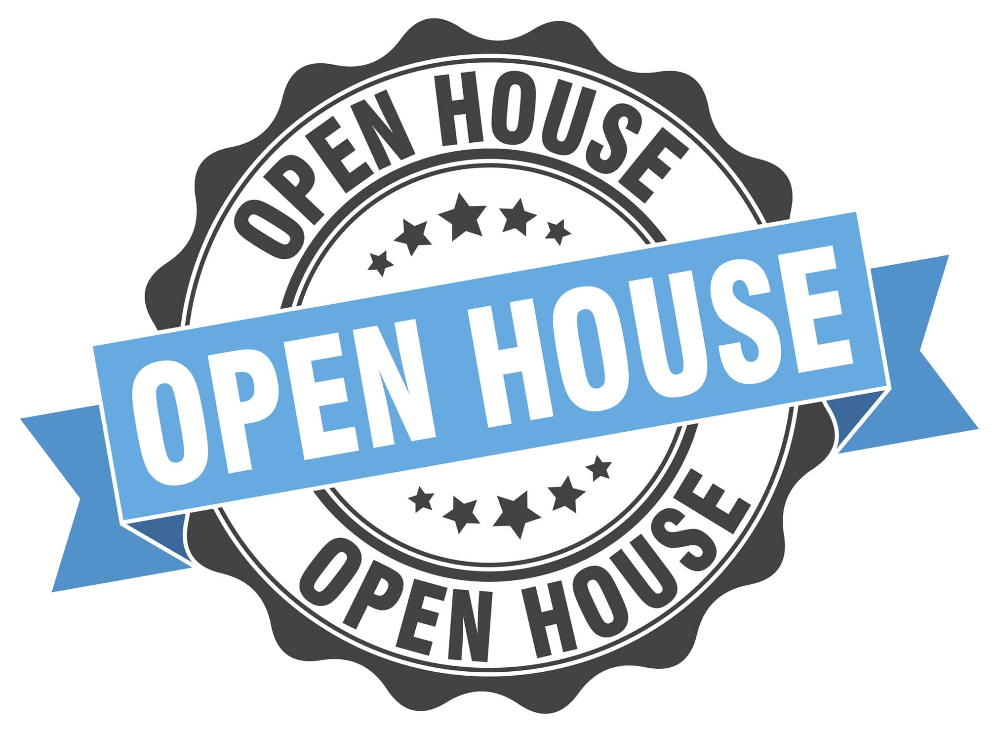 OPEN HOUSE BLUE SEAL