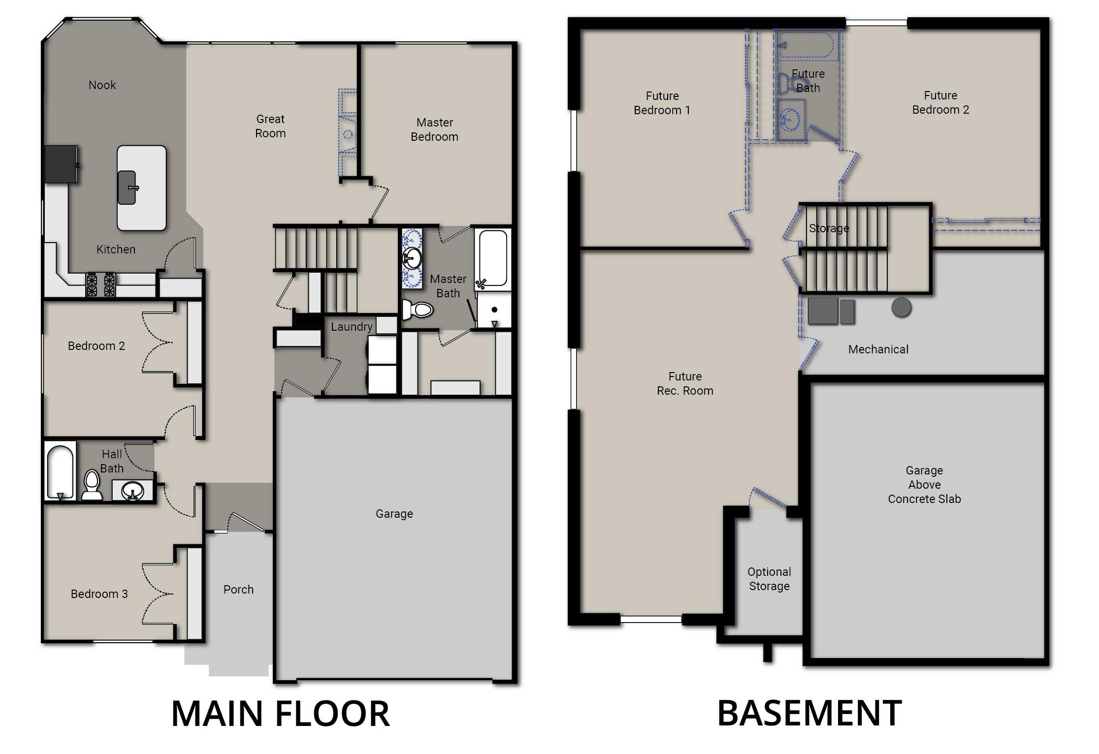 Welton Floor Plan