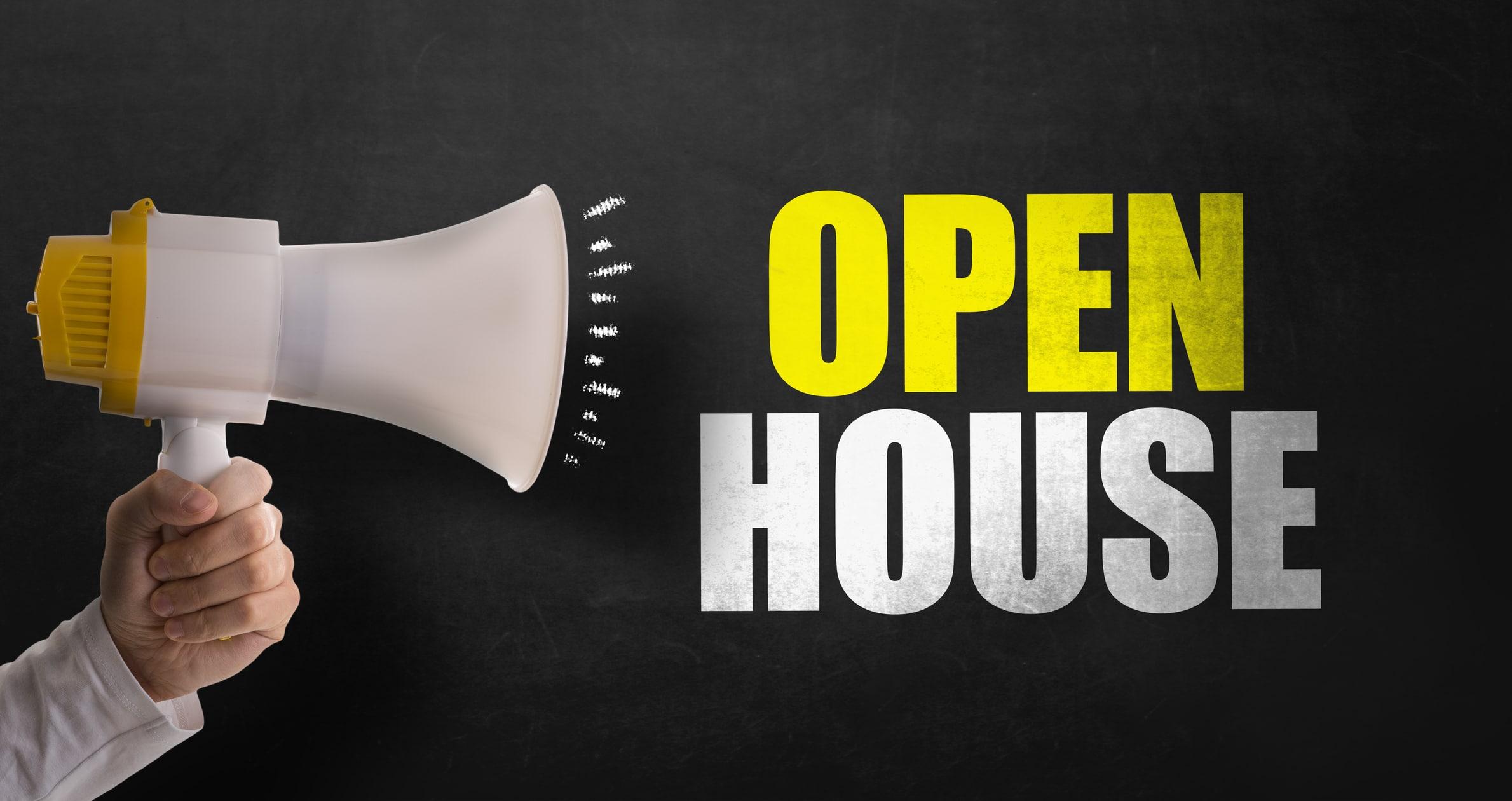 Open House Megaphone