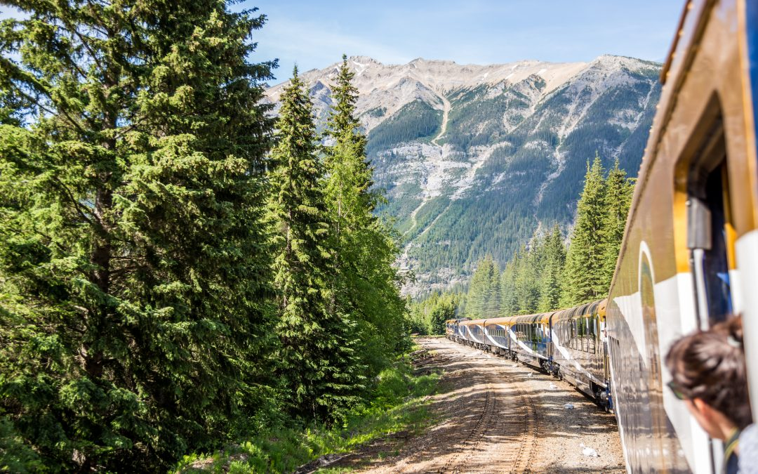 LUXURY TRAIN ROUTE FROM MOAB TO DENVER COMING
